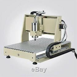 1.5KW USB 4 Axis CNC 6040 Router Engraver Engraving Machine Milling 3D+Handwheel