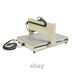 1.5KW USB 4Axis CNC 6090 Router Milling Engraving 24x36 3D Cutting Engraver US
