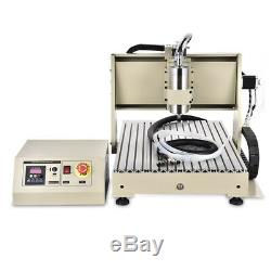 1.5KW VFD 4 Axis CNC Router 6040 Engraving Machine Carving Milling Drill Machine