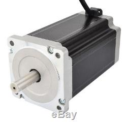 1 Axis CNC Kit 13Nm(1841oz. In) Nema 34 Stepper Motor & Driver CNC Mill Router
