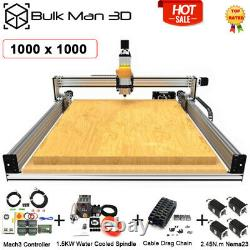 1010 LEAD CNC Router Machine Full Kit 4 Axis Carving Milling Engraver Full Kit