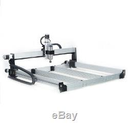11M 4Axis CNC Router Machine Kit Milling Engraver + Cable Chain Set 2.2KW