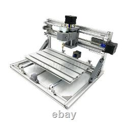 12V 3 Axis CNC Router Machine & 500mW Laser Engraving PCB Milling Wood Carving
