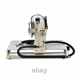1500W 4 Axis USB CNC 6040 Router Engraver Drilling Milling Machine + Handwheel