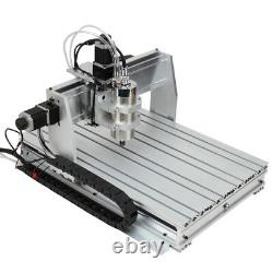 2.2KW CNC Router 6040 4-Axis Mach3 USB Engraving CNC Cutting Milling Machine US