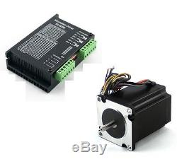 2 Axis CNC Kit 570 oz. In Nema 23 Stepper Motor & Driver CNC Mill Router