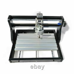 2 in 1 3 Axis CNC 3018 PRO Router ER11 Milling Engraver Machine+5500mW Laser