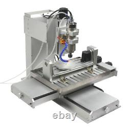 2200W 6040 5Axis CNC Router Frame USB Mach3 Port Metal Engraving Milling Machine
