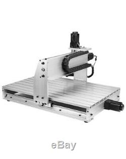 3 AXIS 800W 6040 Desktop CNC Router 3D Engraving Drilling Milling Machine 110V
