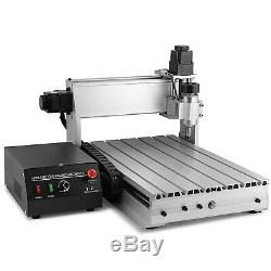 3 AXIS CNC Router Engraver MACH3 3040T Drill Milling Machine USB Port Wood Metal