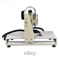 3 Axis 1.5KW CNC 6040 Router Engraver Milling Machine Cutter 3 Rotating Axis USB