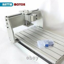3 Axis 3040 CNC Router Frame Engraving Milling Machine 52mm Kit&300W DC Spindle