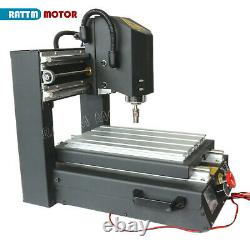 3 Axis CNC 2030 400W Spindle Wood Router Desktop Mill Drill Engraver MachineUS
