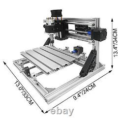 3 Axis CNC 2418 Router Kit PCB Engraver PVC Wood Plastic Milling Cutter USA