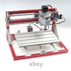 3- Axis CNC 3018 Router DIY Engraving Carving Milling Machine &15 W Laser module