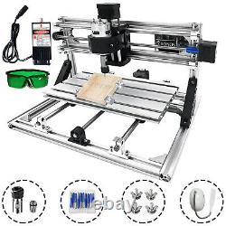 3 Axis CNC 3018 Router Kit 500MW Mini Laser Engraver For Wood Milling Engraving