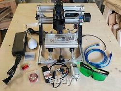 3 Axis CNC Router 1610 5.5W Laser Engraving & Milling Machine