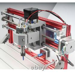 3 Axis CNC Router Engraver PCB Wood Carving DIY Milling Engraving Machine US