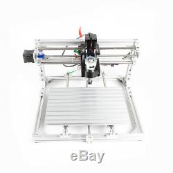 3 Axis CNC Router Kit 3018 Engraver Aluminum Profile Material Milling GRBL Contr