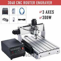 3 Axis CNC Router Machine Wood Engraver Cutter Engraving Milling Cutting Machine