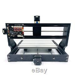 3 Axis CNC3018PRO Router Wood Carving Engraving PCB Milling+5500mW Laser Machine