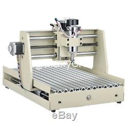 3 Axis CNC3040 Router Engraver Engraving 3D Milling Drilling Machine 400W Cutter
