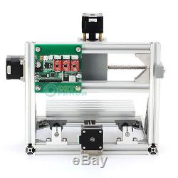 3 Axis DIY CNC Router Machine + 500mW Laser Engraving PCB Milling Wood Carving
