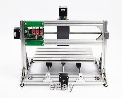 3 Axis DIY Mini 3018 GRBL Control CNC Router Laser Milling Machine with 5.5W laser