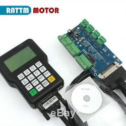 3 Axis DSP 0501 Handle Controller& Board For CNC Router Milling Engraver Machine