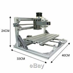 3018 3 Axis DIY CNC Laser Engraving Machine Carving PCB Milling Machine Router