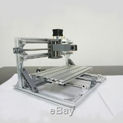 3018 3 Axis DIY CNC Router Spindle Motor Wood Engraving Machine Milling
