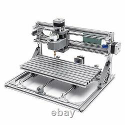 3018 3 Axis Mini DIY CNC Router Standard Spindle Motor Wood Engraving Machine Mi
