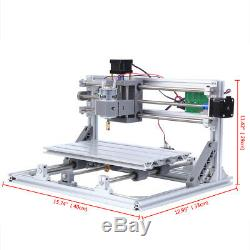 3018 CNC Machine Router 3-Axis Engraving PVC Wood Carving DIY Milling Kit
