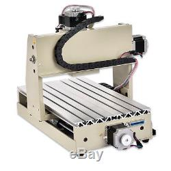 3020T 3 Axis CNC Router Engraver Milling Drilling Carving Machine 300W Carver