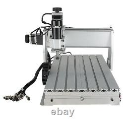 3040Z-DQ CNC Router 3Axis Acrylic Engraving DIY Milling Cutting Machine 500W US