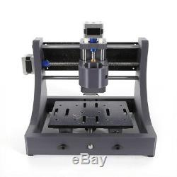 3Axis 1208 CNC Router Kit Engraver Machine DIY Wood PCB Milling Wood Carving 40W