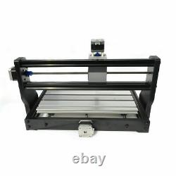 3Axis CNC 3018 PRO DIY Router Engraving Machine PCB Metal Mill+2500mw Laser Head