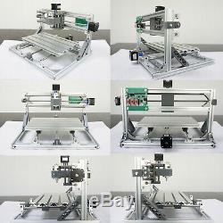 3Axis DIY CNC 3018 Laser Engraving Machine Carving PCB Milling Router Engraver