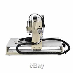 3axis USB 6040 CNC Router Engraving Machine Metal Milling Cutting 1.5KW + Remote