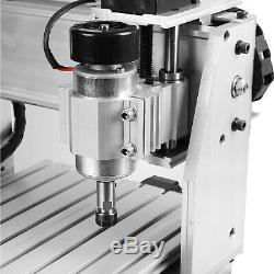 4 AXIS CNC MACH3 3040T Router Engraver Drill Milling Machine USB 400W Wood Art