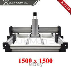4 Axis 1500x1500mm WorkBee CNC Router Machine Kit Lead Screw CNC Engraver Mill