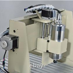 4 Axis 3040 USB CNC Router Engraving Milling Carving Drilling Machine 800W+RC