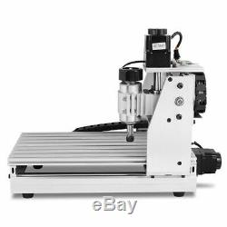 4 Axis 400W 3040T CNC Router 3D Engraver Engraving Drilling Milling Machine USB