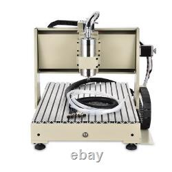 4 Axis 6040 USB CNC Router Engraver Engraving Milling Machine With Controller