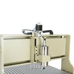 4 Axis 6090 CNC Router Engraving Machine 1500W Milling Drilling +Remote USB Port