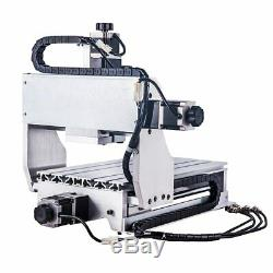 4 Axis CNC Router 3020 T-D300 Mini Milling Engraver Machine & Free DHL Shipping