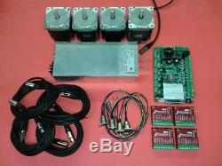 4-Axis DIY Nema 34 Kit (for CNC Router / Mill)