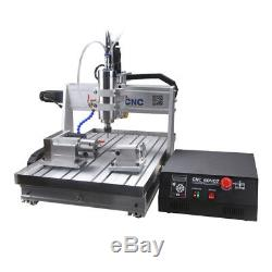 4 Axis Engraver Usb Cnc6040z Router Engraving Drilling Milling Machine 3d Cutter