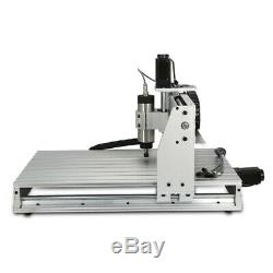 4 Axis Router Engraving Machine Wood Drill Cut Milling CNC 6040Z 800W Motor New