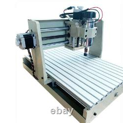 4 Axis USB CNC 3040 Router 3D Engraver Engraving Drilling Milling Machine 400W